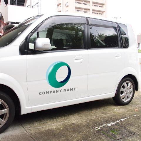 O文字-サークルボール営業車