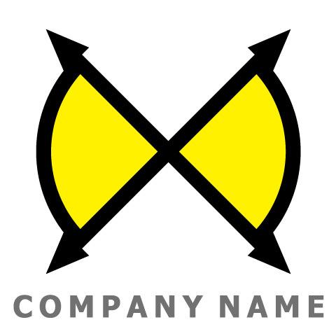 X文字-全方位コンパス