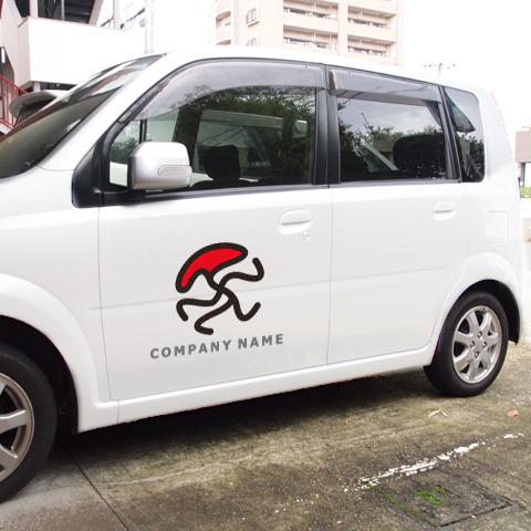 UMAロゴ車