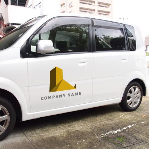 L文字-ビルディングス車