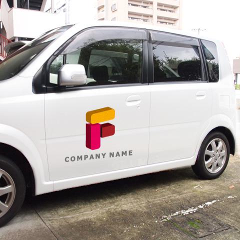 Fロゴ営業車