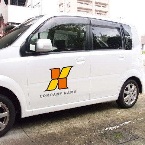 X文字車イメージ